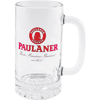 Direct Screen Glass Pub Stein - 16 oz
